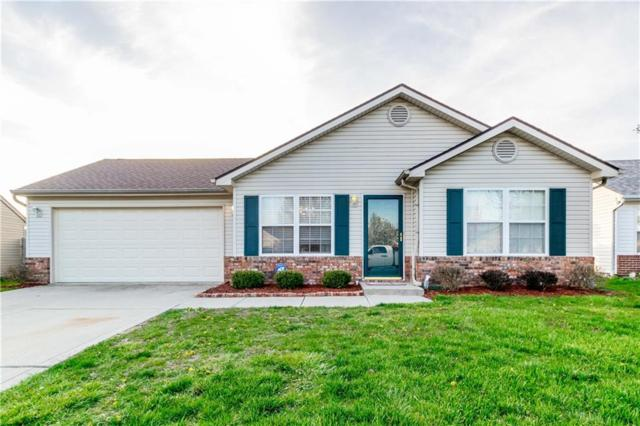 1378 Millridge Drive, Greenwood, IN 46143 (MLS #21558117) :: The Evelo Team