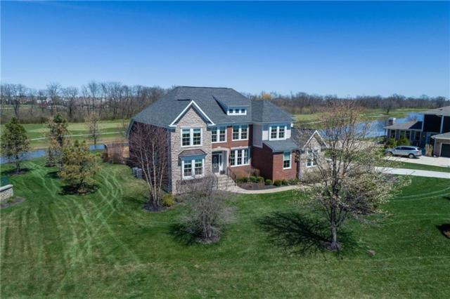 11942 Hawthorn Ridge, Fishers, IN 46037 (MLS #21558829) :: The Indy Property Source