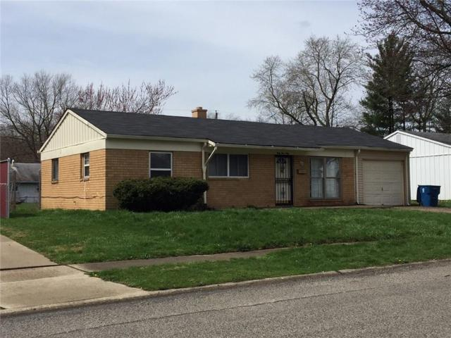 3950 N Alsace Place, Indianapolis, IN 46226 (MLS #21558914) :: RE/MAX Ability Plus