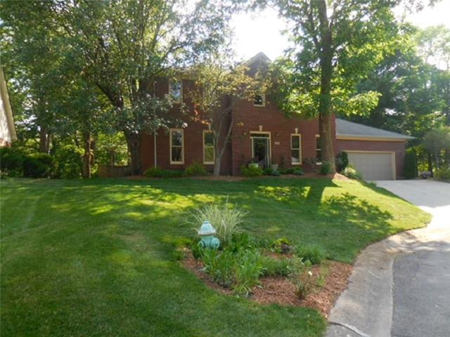 8426 Carefree Circle, Lawrence, IN 46236 (MLS #21559137) :: The Evelo Team