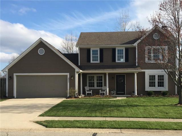 6577 Manchester Drive, Fishers, IN 46038 (MLS #21559288) :: The Evelo Team