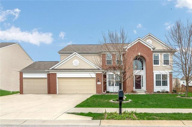 11923 Boothbay Lane, Fishers, IN 46037 (MLS #21559552) :: The Evelo Team