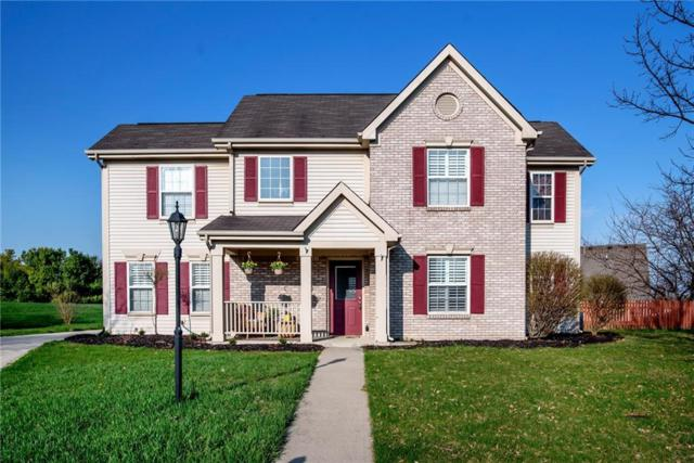 11418 Feather Rock Court, Fishers, IN 46037 (MLS #21559636) :: HergGroup Indianapolis