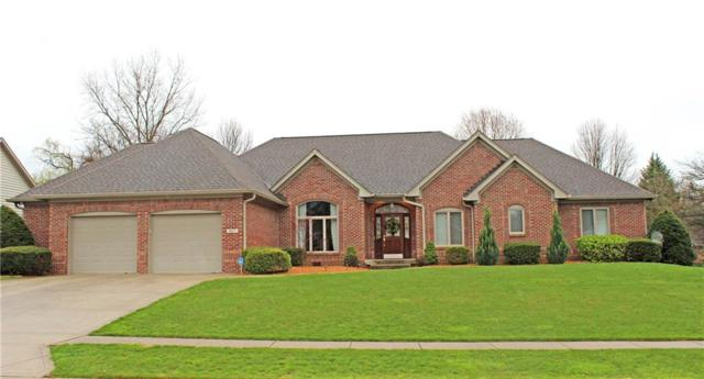 4617 Fox Moor Place, Greenwood, IN 46143 (MLS #21560299) :: The Indy Property Source