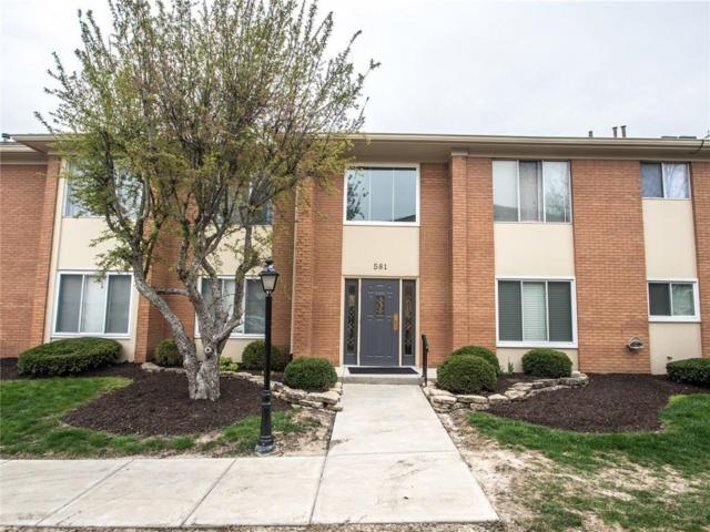 581 W Hunters Drive A, Carmel, IN 46032 (MLS #21560441) :: The ORR Home Selling Team