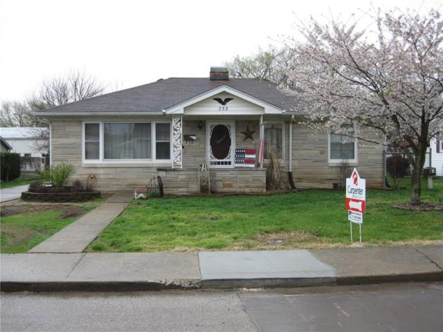 359 E Gray Street, Martinsville, IN 46151 (MLS #21560652) :: The Indy Property Source