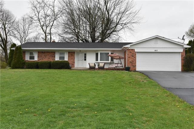 862 Knollwood Drive, Columbus, IN 47203 (MLS #21560704) :: The ORR Home Selling Team