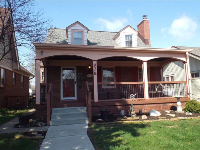928 Lesley Avenue, Indianapolis, IN 46219 (MLS #21560707) :: The Indy Property Source