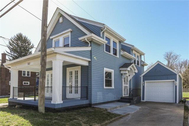 641 E 34th Street, Indianapolis, IN 46205 (MLS #21560745) :: Indy Scene Real Estate Team