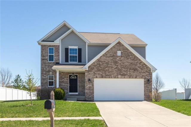 1611 Tuscany Drive, Greenwood, IN 46143 (MLS #21560793) :: The Indy Property Source