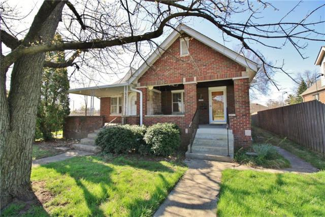 5339-5341 E 10th Street, Indianapolis, IN 46219 (MLS #21562316) :: The Evelo Team