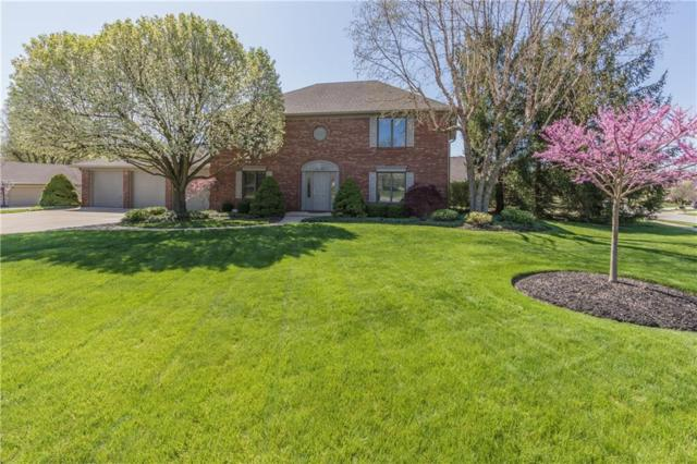1505 Deerfield Drive, Plainfield, IN 46168 (MLS #21562665) :: The ORR Home Selling Team