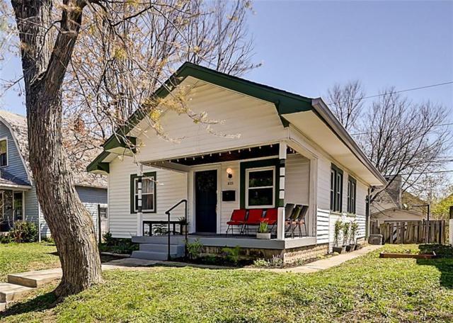 815 Tecumseh Street, Indianapolis, IN 46201 (MLS #21563214) :: Indy Plus Realty Group- Keller Williams