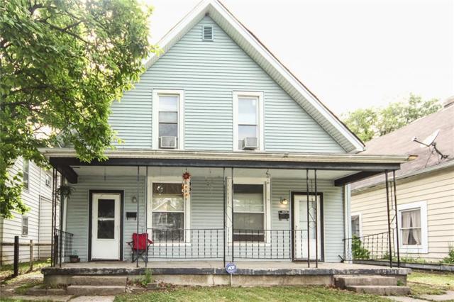 414-416 N Linwood Avenue N, Indianapolis, IN 46201 (MLS #21563537) :: Indy Scene Real Estate Team