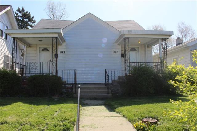 841-843 Wallace Avenue, Indianapolis, IN 46201 (MLS #21563565) :: RE/MAX Ability Plus