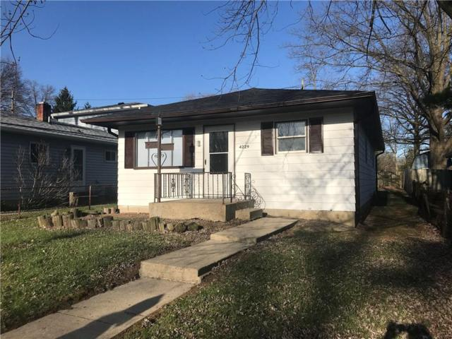 4229 Weaver Avenue, Indianapolis, IN 46227 (MLS #21563845) :: The Evelo Team