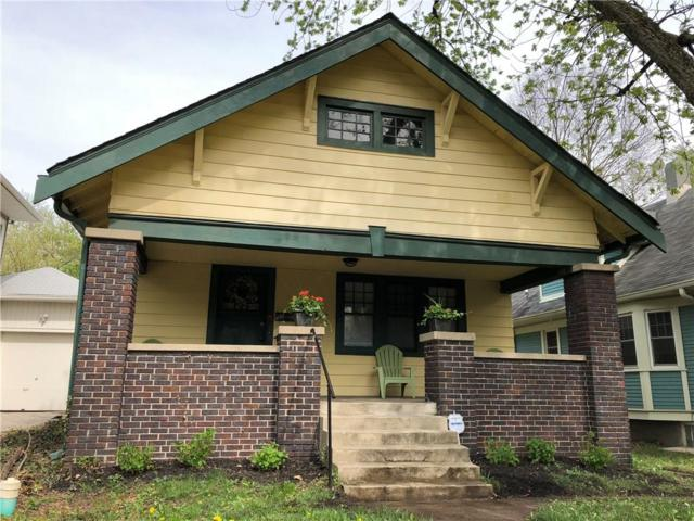 4337 N College Avenue, Indianapolis, IN 46205 (MLS #21564251) :: The Evelo Team
