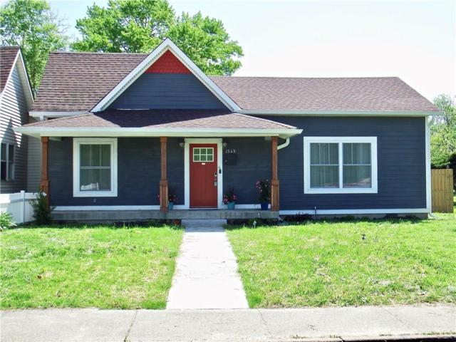 1549 Olive Street, Indianapolis, IN 46203 (MLS #21564277) :: The Evelo Team