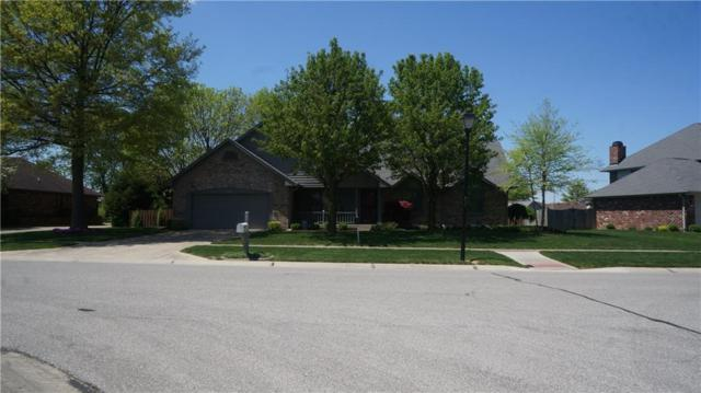802 Crystal Lake Drive, Greenwood, IN 46143 (MLS #21564327) :: RE/MAX Ability Plus