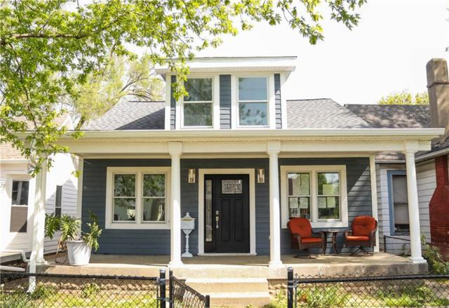 1826 Woodlawn Avenue, Indianapolis, IN 46203 (MLS #21564587) :: The Evelo Team
