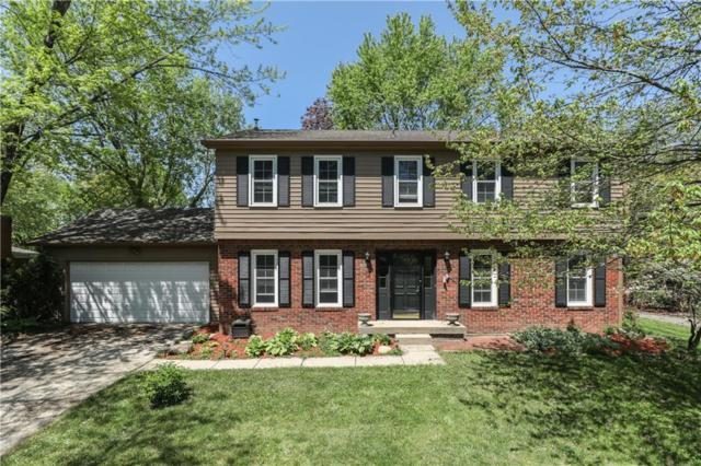 3212 Babson Court, Indianapolis, IN 46268 (MLS #21564948) :: The Evelo Team