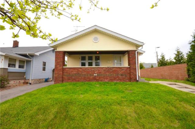 1021 N Euclid Avenue, Indianapolis, IN 46201 (MLS #21565185) :: The Evelo Team