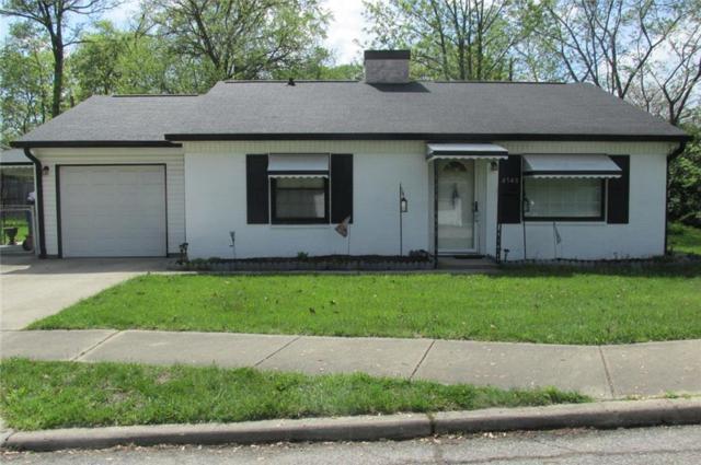 4540 N Hartman Drive, Lawrence, IN 46226 (MLS #21565740) :: The ORR Home Selling Team
