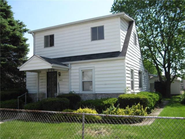 2415 S Mcclure Street, Indianapolis, IN 46241 (MLS #21565810) :: The Evelo Team