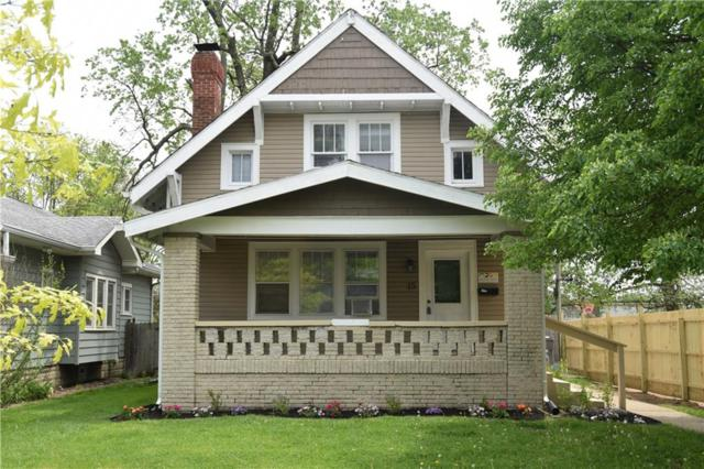 15 N Webster Avenue, Indianapolis, IN 46219 (MLS #21565985) :: Indy Scene Real Estate Team