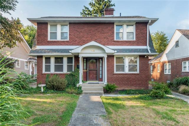 514 W 43rd Street, Indianapolis, IN 46208 (MLS #21566304) :: Indy Scene Real Estate Team