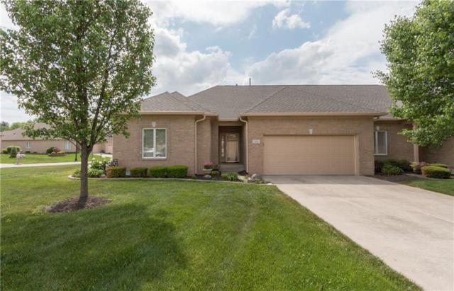 1496 Raver Court, Greenwood, IN 46143 (MLS #21566490) :: The Evelo Team