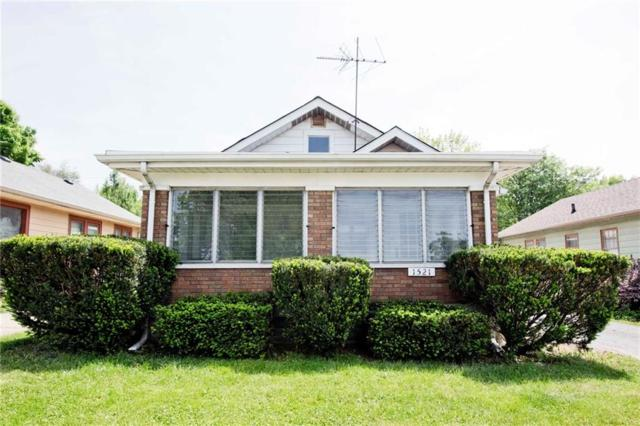 1521 N Euclid Avenue, Indianapolis, IN 46201 (MLS #21566990) :: The Evelo Team