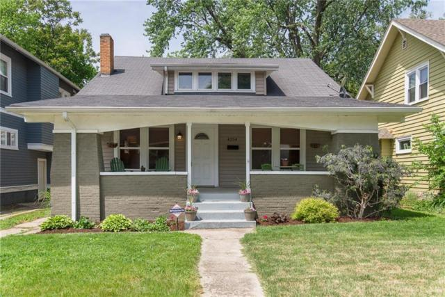 4254 Carrollton Avenue, Indianapolis, IN 46205 (MLS #21567251) :: The Evelo Team