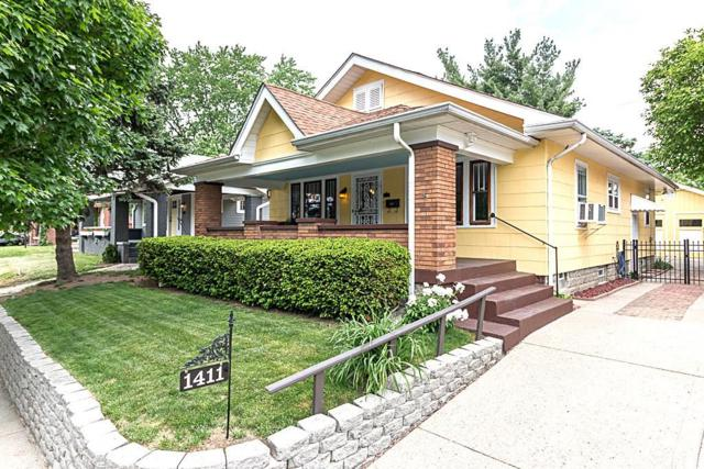1411 Shannon Avenue, Indianapolis, IN 46201 (MLS #21567523) :: The Evelo Team