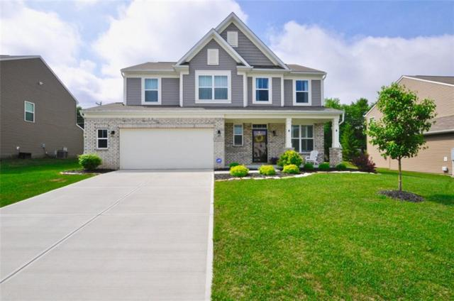 1663 Windswept Drive, Greenwood, IN 46143 (MLS #21567610) :: The Evelo Team