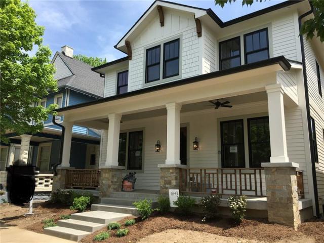 1843 N Talbott Street, Indianapolis, IN 46202 (MLS #21567652) :: Indy Scene Real Estate Team