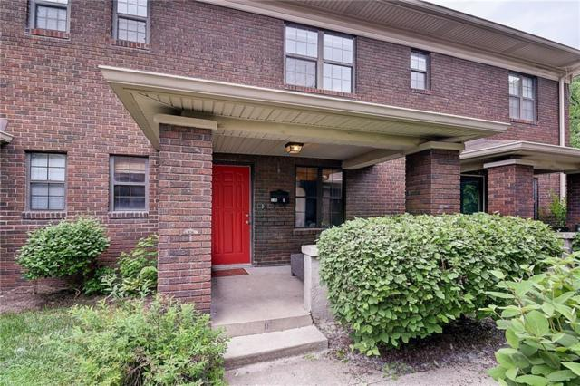 520 Sutherland Avenue D, Indianapolis, IN 46205 (MLS #21567980) :: FC Tucker Company