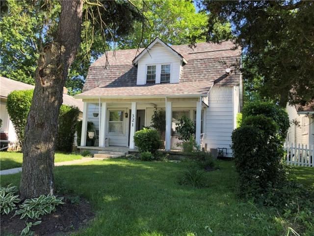 321 W 41st Street, Indianapolis, IN 46208 (MLS #21568174) :: Indy Scene Real Estate Team