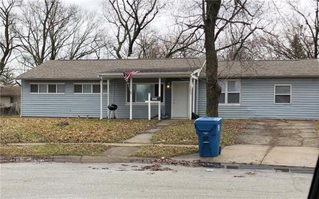 5003 Karen Drive, Indianapolis, IN 46226 (MLS #21569586) :: The Evelo Team