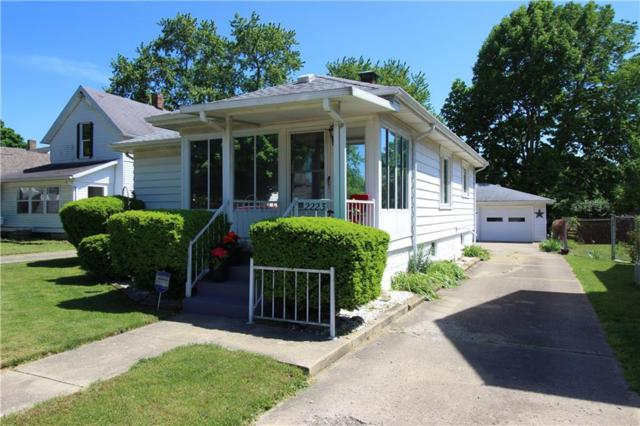 2223 Walnut Street, New Castle, IN 47362 (MLS #21569982) :: The ORR Home Selling Team