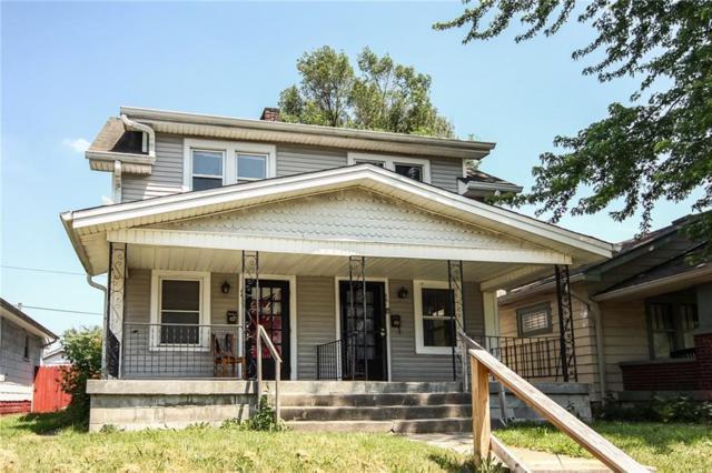 861-863 N Drexel Avenue N, Indianapolis, IN 46201 (MLS #21570067) :: Indy Scene Real Estate Team