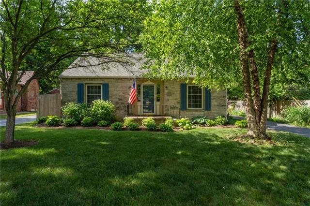 1023 Kessler Boulevard East Drive, Indianapolis, IN 46220 (MLS #21570391) :: Indy Scene Real Estate Team