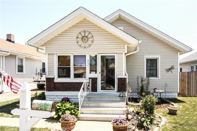 237 S 5th Avenue, Beech Grove, IN 46107 (MLS #21570475) :: Indy Scene Real Estate Team