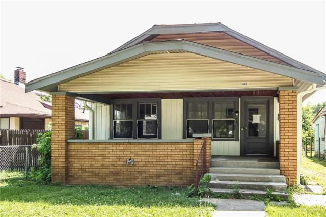 403 N Gladstone Avenue, Indianapolis, IN 46201 (MLS #21571220) :: Indy Scene Real Estate Team