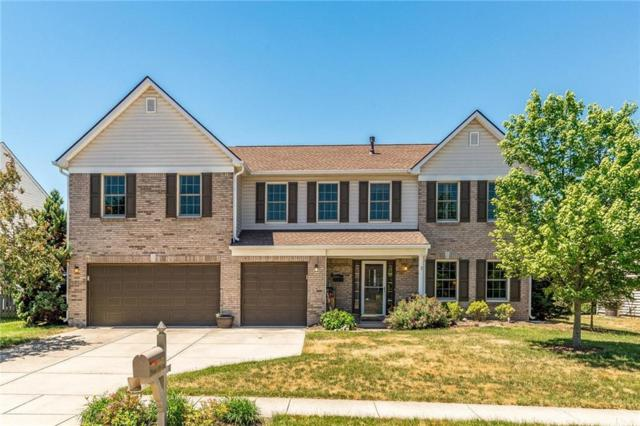 10825 Pleasant View Lane, Fishers, IN 46038 (MLS #21571812) :: The Evelo Team
