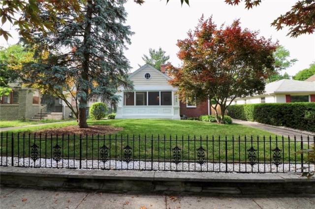 140 Berkley Road, Indianapolis, IN 46208 (MLS #21572891) :: Indy Scene Real Estate Team