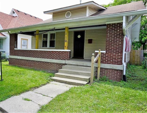 110 N Euclid Avenue, Indianapolis, IN 46201 (MLS #21572985) :: Indy Scene Real Estate Team