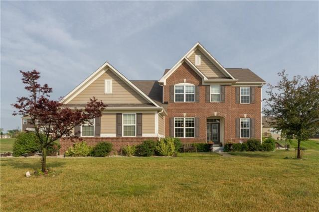 1214 Colinbrook Circle, Greenwood, IN 46143 (MLS #21573521) :: The Evelo Team