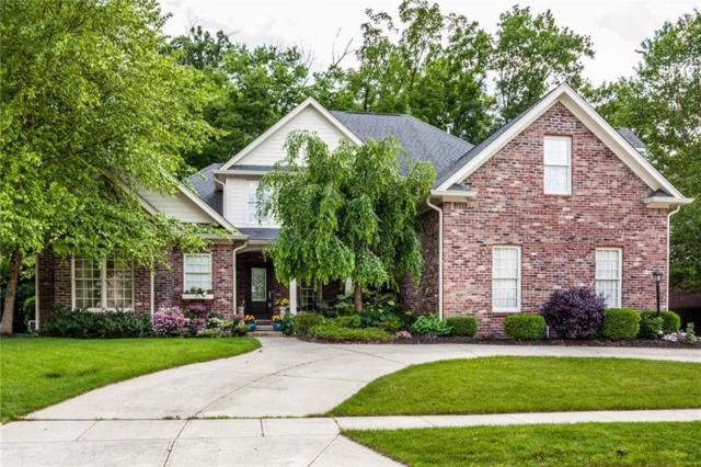 7481 Easy Street, Fishers, IN 46038 (MLS #21573746) :: The Indy Property Source