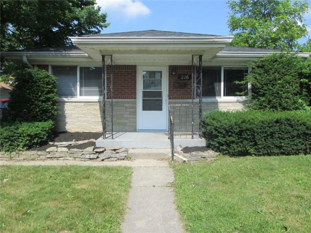 226 N 8TH Avenue, Beech Grove, IN 46107 (MLS #21574371) :: Indy Scene Real Estate Team